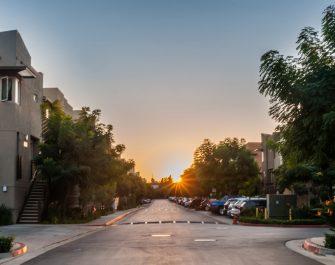 Sunset-on-mainstreet